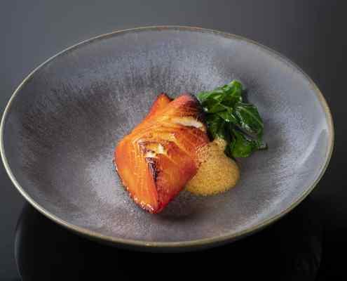 Honeyed Sea Bass