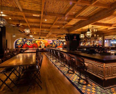 Casa Calavera Main Dining Room
