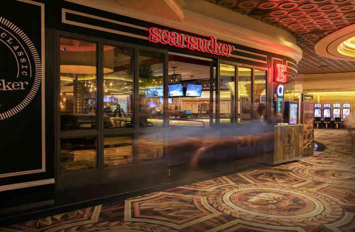 Searsucker Las Vegas Entrance