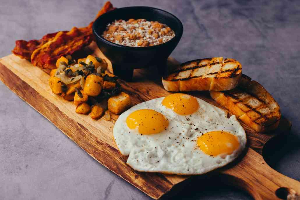 Calavera Breakfast Platter