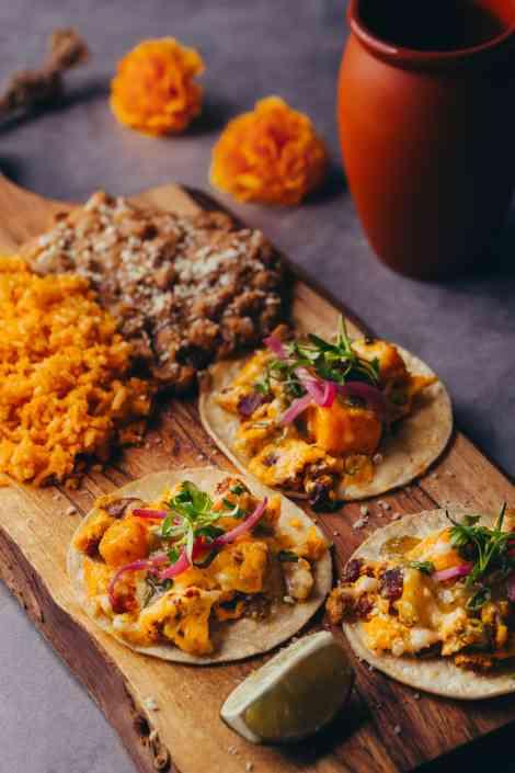 Chorizo & Egg Tacos