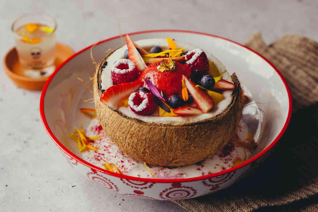 Coconut Parfait