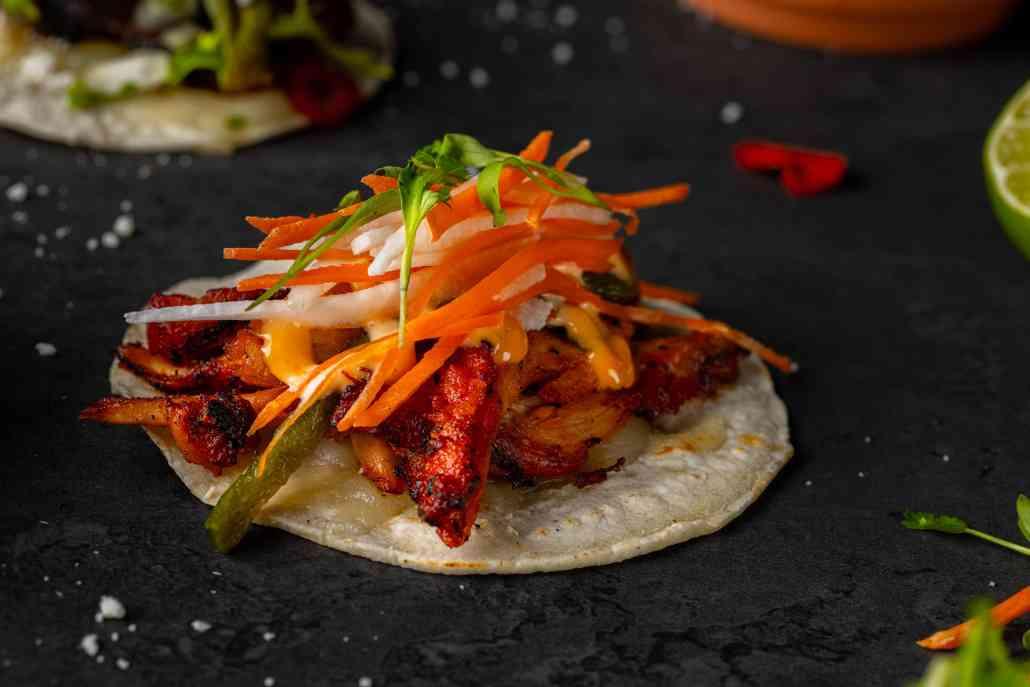 Roasted Chicken Taco