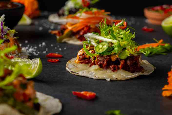 Shredded Beef Taco