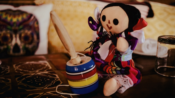 Doll with Toy