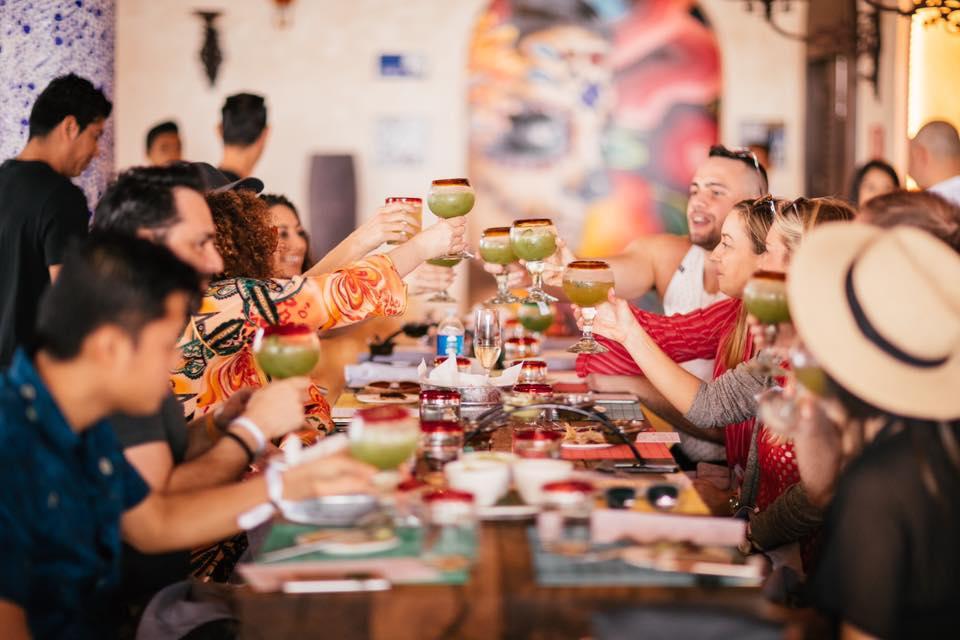 Group Dinner at Casa Calavera Los Cabos