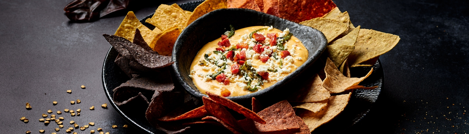 Nachos with Queso