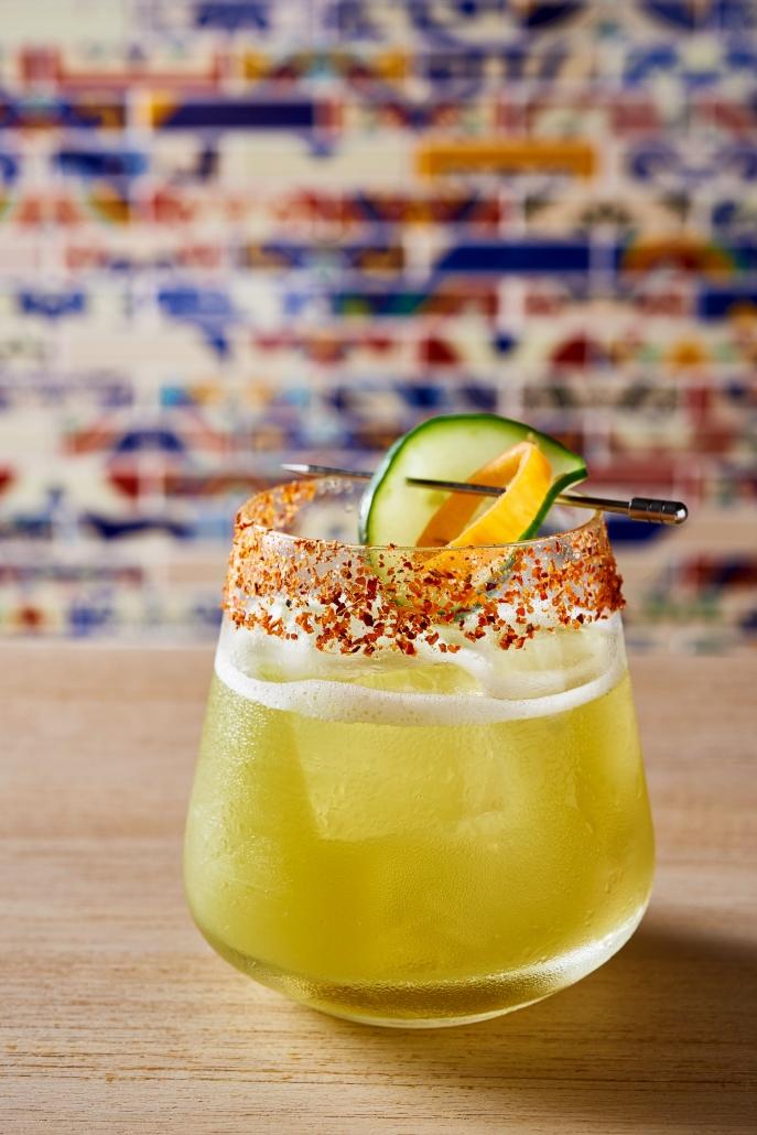 Big Island Hearts of Palm cocktail