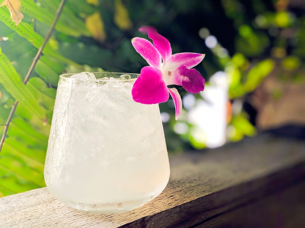 Fleur d'Amour cocktail