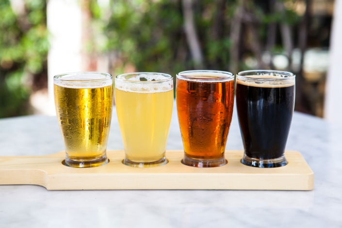 Flight of Beer Samples