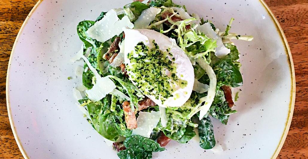 Salad with Burrata