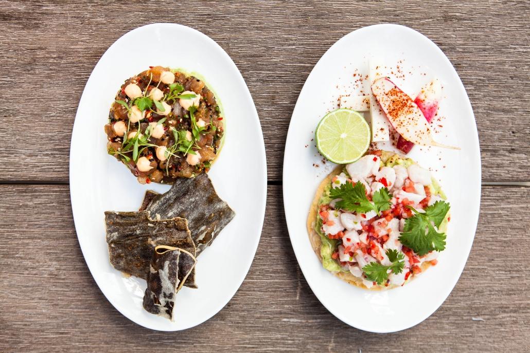 Various Fish Dishes