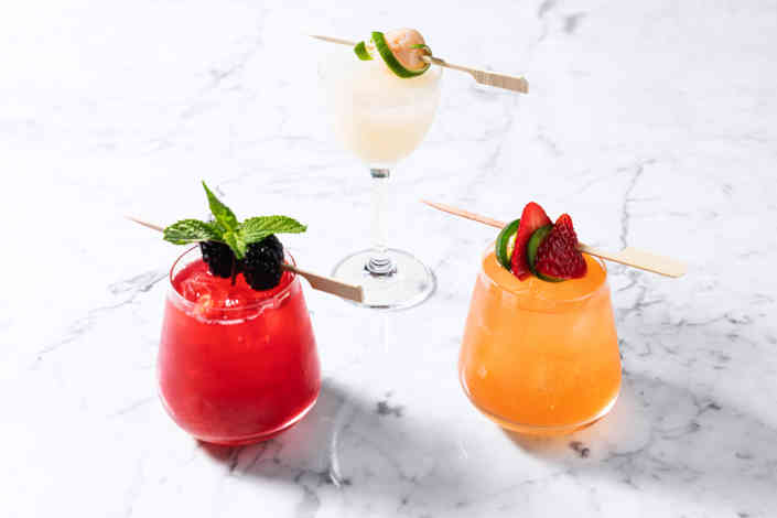 Herringbone Cocktails