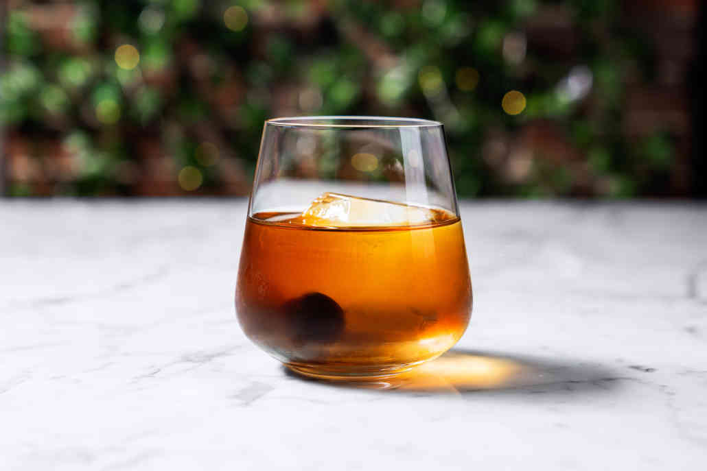 Smoked Old Fashioned Cocktail