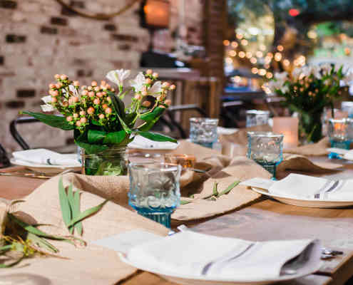 Herringbone Place Setting