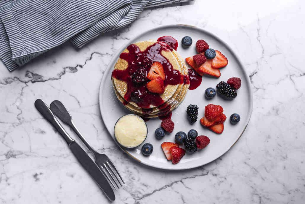 Ricotta Cornbread Pancake