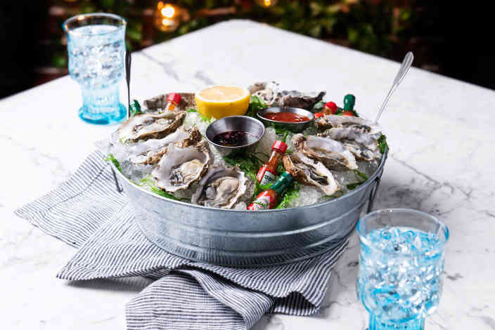 Seasonal Oysters